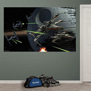 Battle of Endor™ Mural Fathead Wall Decal